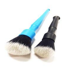 Strumenti automatici naturali dettaglianti del particolare delle spazzole di capelli del verro di pulizia di spazzola dell'automobile