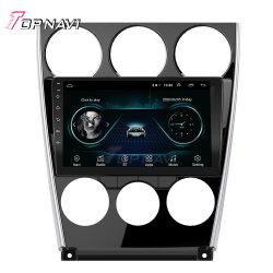 Un giocatore di 9 di pollice multimedia Android dell'autoradio per stereotipia automatica Autoradio di percorso di GPS dell'automobile 2004-2015 di Mazda 6