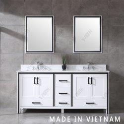 singolo dispersore del Governo 72inch dei doppi dispersori di vanità indipendente bianca della stanza da bagno
