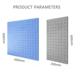 Ткань 9 мм PET акустические войлочные панели звукоизоляция Диффузор Звукоизоляция панели