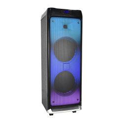 مصابيح Super Bass Fire الاحترافية صوت الطرف Bluetooth لاسلكي محمول سماعة خشبية