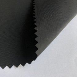 100% 폴리에스테르 75D 모방 메모리 패브릭 Automan 메모리 PU 코팅 방수 재킷 옷감