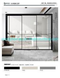 يتم إمداد المصنع الصيني بنافذة ضيقة للغاية وألومنيوم الباب نافذة وباب سعر جيد نافذة وباب الألومنيوم