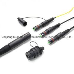 Aus optischen FasernSc/APC Transceiverkabel-Steckschnüre des Sc/APC Faser-Kabel-FTTH zu den vor konfektionierten