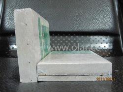 Placa de fibra de cimento com estrutura de aço dentro