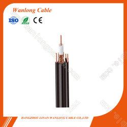 CCTV(CE, RoHS, CPR) 복합 동축 케이블용 Rg59+2c 전원 메신저