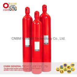 ISO9809-1 Standard-BV anerkannte Qualitäts-Sicherheit leeren haltbares bewegliches CO2 Feuerlöscher-Becken 80L Hfc-227ea Gas-Feuerbekämpfung Contaienr