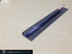 De Versiering van de Tegel van de Straal van het aluminium in Geanodiseerde Heldere saffier-Blued Kleur