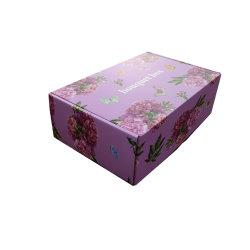Impresión a todo color Caja de regalo con patrones de flores