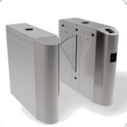 Cancello biometrico del cancello girevole dell'ala dello scanner del codice a barre, cancelli girevoli di controllo di accesso di RFID