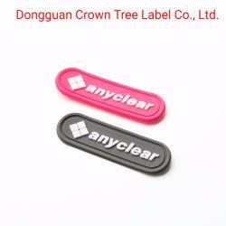 Etiket van pvc Softable van Anyclear kan het Grijze op Stof in Uitstekende kwaliteit naaien