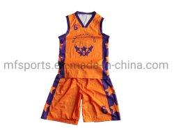 Sublimação completa uniforme de basquete, se sublima Basquetebol Camisolas Barato Basquetebol Sublimação tops