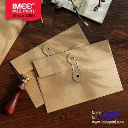 Busta di carta personalizzata Imee in busta di carta Kraft per stock