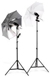 Flash esclavo AC Kit de luz paraguas