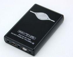 """Портативный жесткий диск 2,5"""" 1080p через HDMI 2.5inch мультимедийный проигрыватель HDD Media Player"""