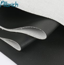 Grano litchi se vende en stock, impermeable e inodoro de cuero artificial de PVC bolsa de embalaje suave tejido de cuero