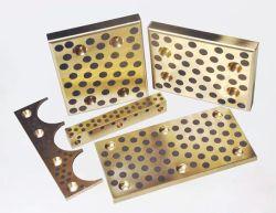 Одноступенчатые безмасляные графит забит бронзовую упорную пластину подшипника