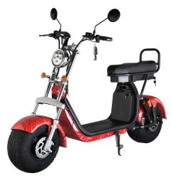 Cee&Coc de bicicletas eléctricas-30001500W W 18em Tyre Citycoco Scooter eléctrico