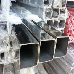 Fabricant de 304 321 316 301 310S soudés en acier inoxydable tuyau tube carré
