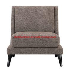 フォーシャンの工場はArmrestなしで現代ファブリックリクライニングチェアの椅子を作った