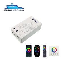 وحدة تحكم Huaxia أحدث مؤشر LED بتقنية WiFi لحوض سباحة RGB LED شرائط ضوئية من الطويا