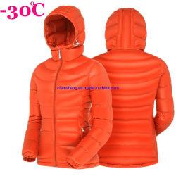As mulheres do sexo feminino por grosso de retalho de vento ultra leve de encher 800 Quilted Senhoras Duck casual de Ganso para baixo casaco de Inverno
