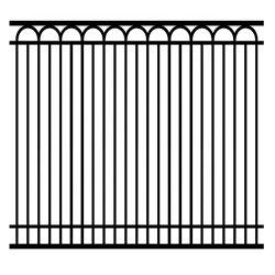 Comitato verticale ornamentale rivestito della rete fissa della parte superiore del germoglio della polvere tubolare del metallo di obbligazione per il giardino