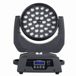 ينتج مصنع Guangzhou Stage Lighting رأس متحرك LED 4in1 36*10W خفيف