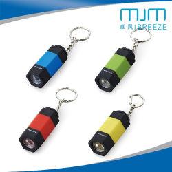 Torcia elettrica ricaricabile del USB LED Keychain della torcia
