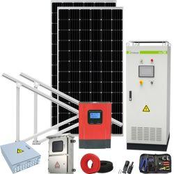 Hors réseau concurrentiel Mur d'alimentation du système solaire 30kw 5000W