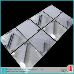 Silber/Aluminium/Badezimmer-Spiegel/Kleidenspiegel/verzieren,/dekorative/verzierte Glasspiegel/milderten Sicherheits-Spiegel mit Film