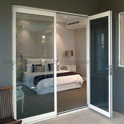 La norma europea de aluminio y vidrio aluminio inclinar y girar/Casement puertas y ventanas de los materiales de construcción