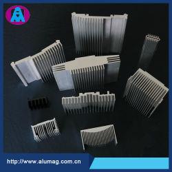 L'extrusion en alliage en aluminium anodisé de couleur de profil en aluminium avec design personnalisé conduit le dissipateur de chaleur