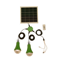10W 15W Casa Solar Sistema de iluminação LED Kit de lâmpada de carregador USB