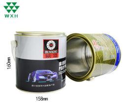 Barattolo di latta vuoto del metallo da 1 litro per vernice, olio, inscatolamento chimico