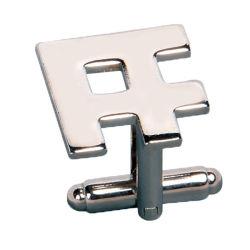 総合的なエナメル(ele-CL002)が付いているカスタム銀製のカフスボタン