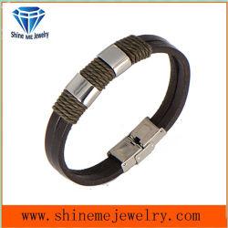 Shineme высокого качества ювелирных изделий из кожи FASHION Bangle (BL2879)