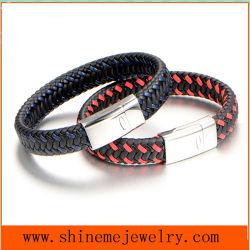 Shineme высокого качества ювелирных изделий из кожи FASHION Bangle (BL2878)