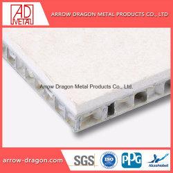 Rigidité élevée résistant aux chocs de pierre de granit en aluminium Panneau alvéolé pour le plafond