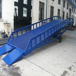 Используется складной стальной двор гидравлический контейнер для док-станции для мобильных ПК аппарели на инвалидной коляске Car погрузчика
