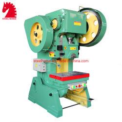 J23-40トン穿孔器の機械不安定な穿孔機機械を押す傾向がある力出版物のシート・メタル
