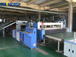 キルトの生産ラインまたはNonwovenの織物の機械装置