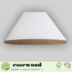 Gesso revestido de madeira Paulownia fresta simples rampa Estreita