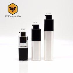 De in het groot Vierkante Roterende Kosmetische Plastic Fles Zonder lucht van de Pomp van de Fles (BJ-15)