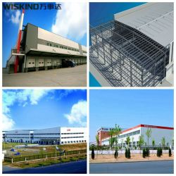 Alto nivel de precisión fabricado en acero personalizados OEM Almacén Edificio