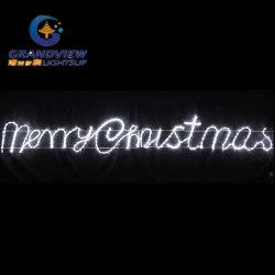 """Анимированные 290см белый светодиод рядом """"Рождество"""" стиле веревки фонари"""