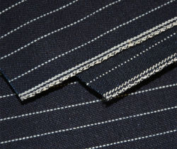Baumwolle 100% gefärbtes Streifen13oz mens-Denim-Textilgewebe 1319
