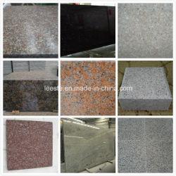 Gris clair, jaune rouillée, Érable rouge, gris foncé etc carreaux de granit à bon marché chinois et de pavés de granit
