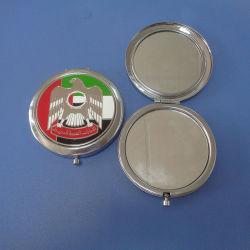 Customzied 70mm Metal Mirrorアラブ首長国連邦National Day Gift Mirror