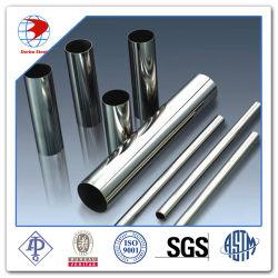 Sin Tubo de acero inoxidable ASTM A249/A269 (TP304/304316/316L/L) por caldera y la fabricación del intercambiador de calor